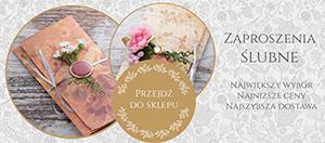 Nowoczesne zaproszenia ślubne | zapi.pl